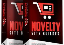 Novelty Site Builder Review – Build Profitable Amazon Sites With WEIRD Products