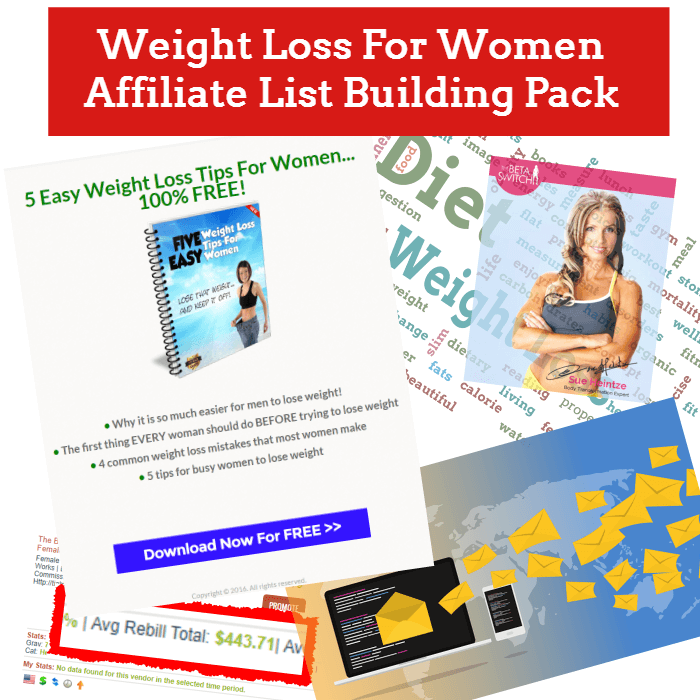 Weight-Loss-For-Women-Affiliate-List-Building-Pack-Review