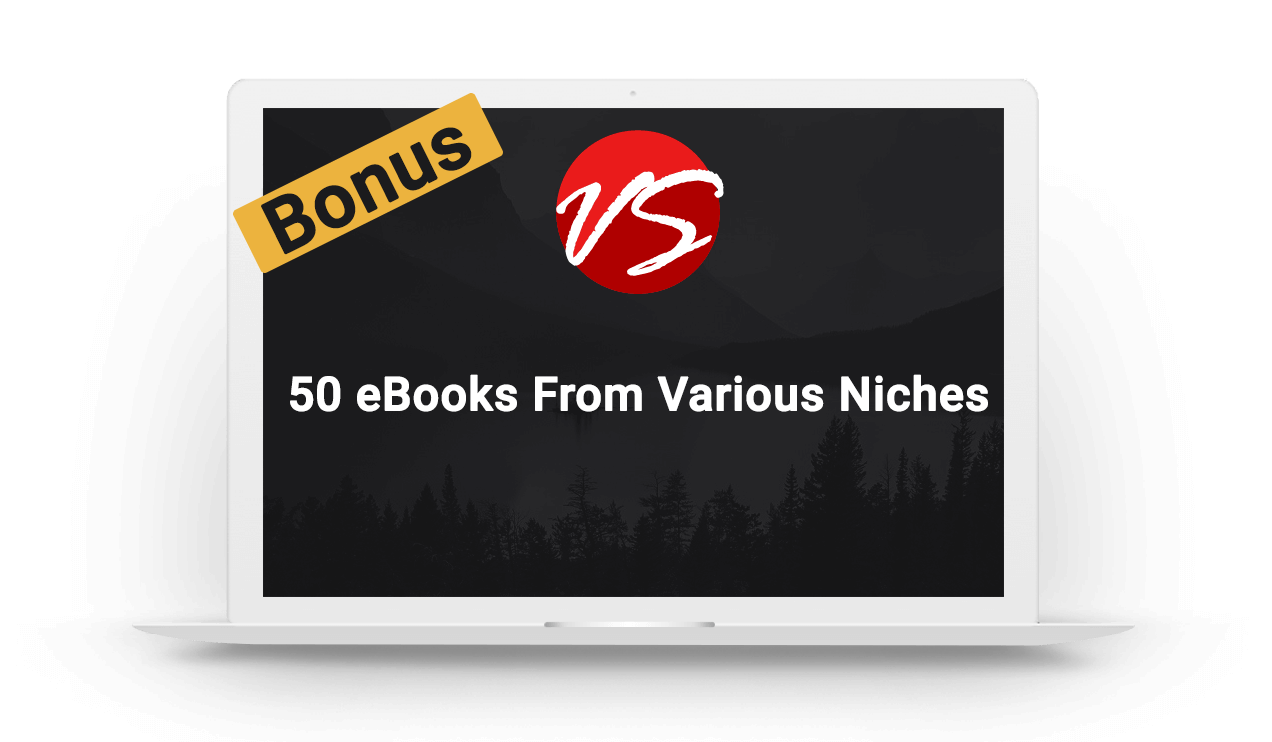2. 50 eBooks From Various Niches