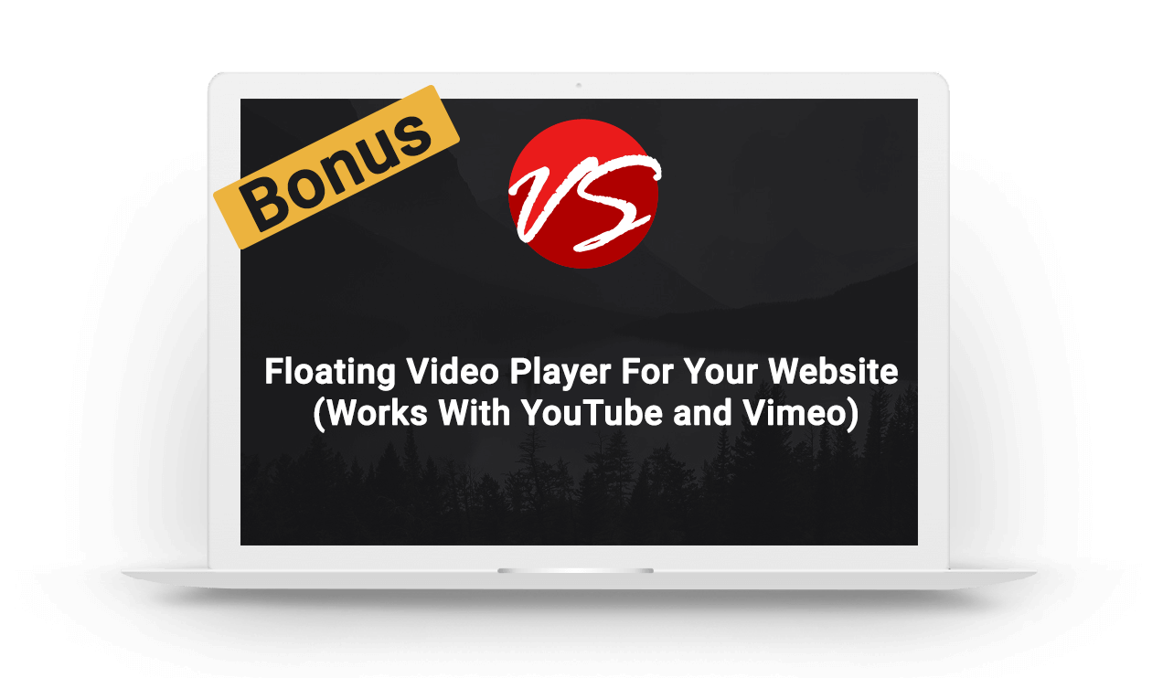 3. Floating Video Player For Your Website