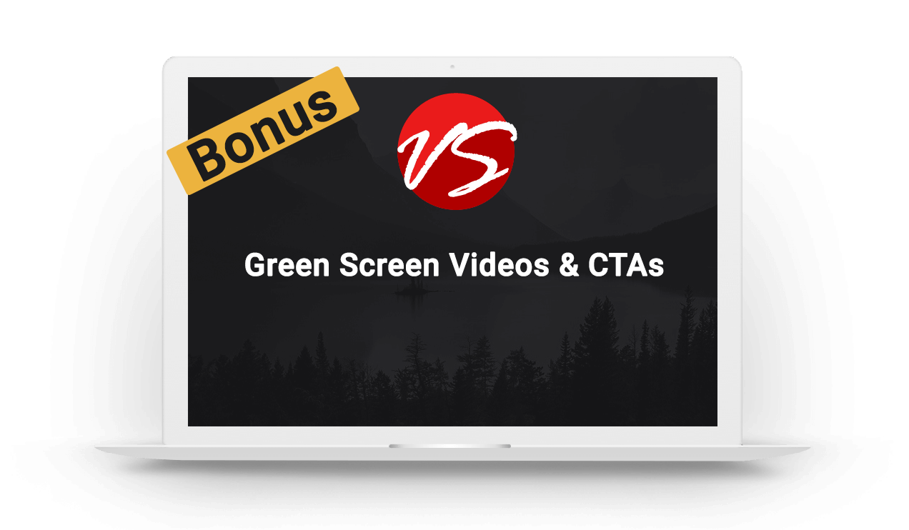 8. Green Screen Videos & CTAs