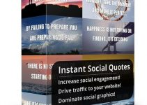 Instant Social Quotes Review – Go Viral And Get Traffic With This Software