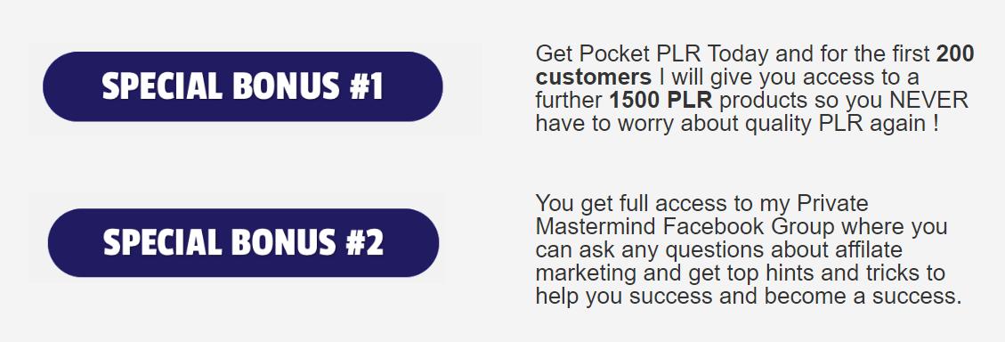 Pocket-PLR-Review-Bonuses