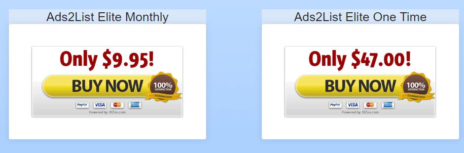 Ads2List-Price