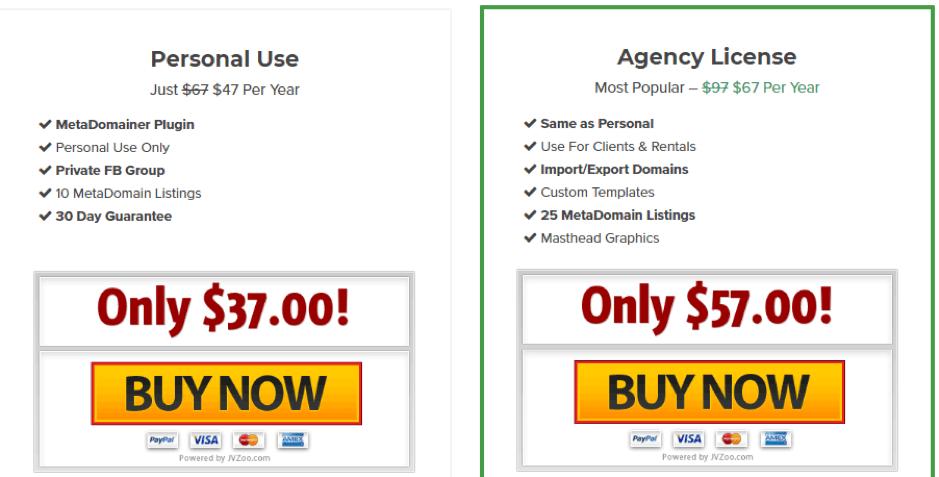 Metadomainer-review-price