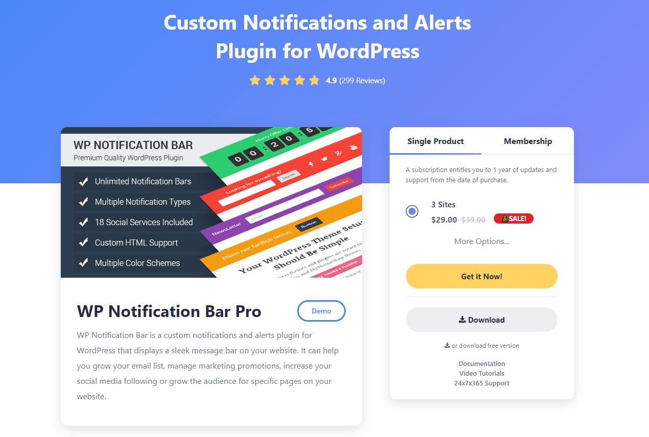 Notification-Bar-Plugin