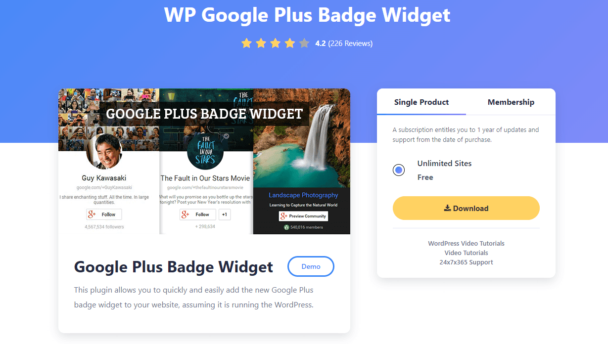 WP-GOOGLE-PLUS-BADGE-WIDGET