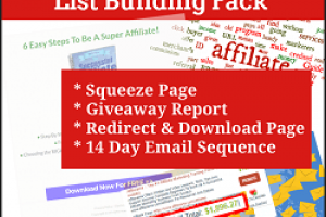 Affiliate Marketing Niche List Building Pack Review – DFY List Building Pack In The MASSIVE Affiliate Marketing Niche