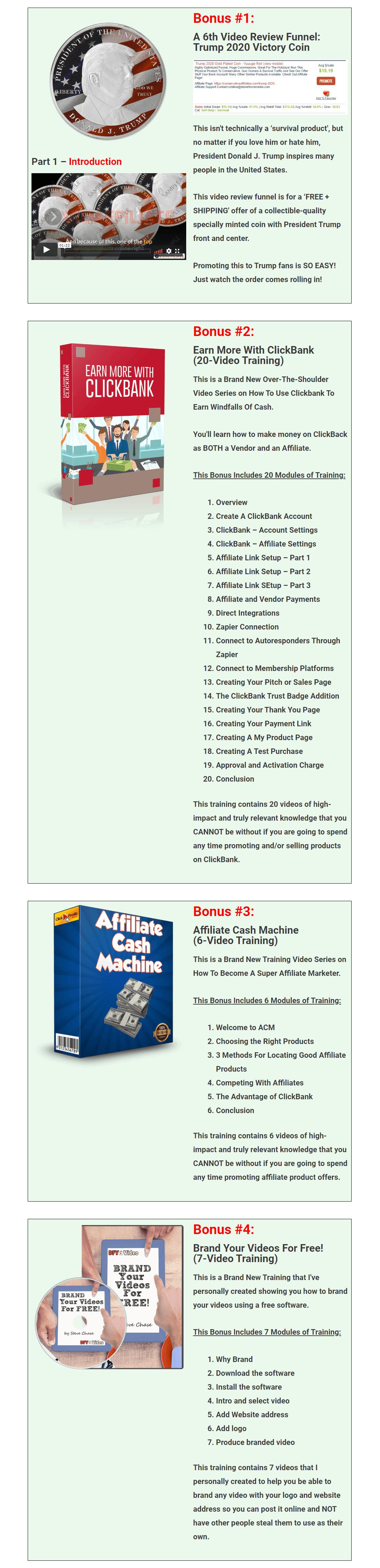 Clickbank-survival-cash-Bonuses