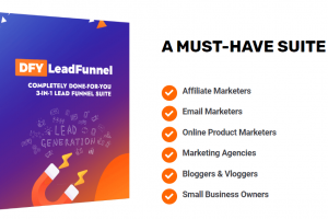 DFY LeadFunnel Review – Completely Done-For-You Affiliate Commissions!