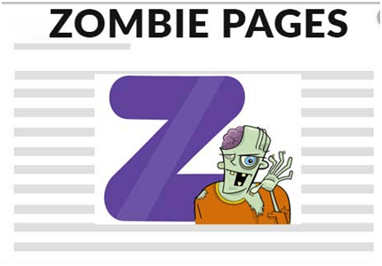 Zombie pages