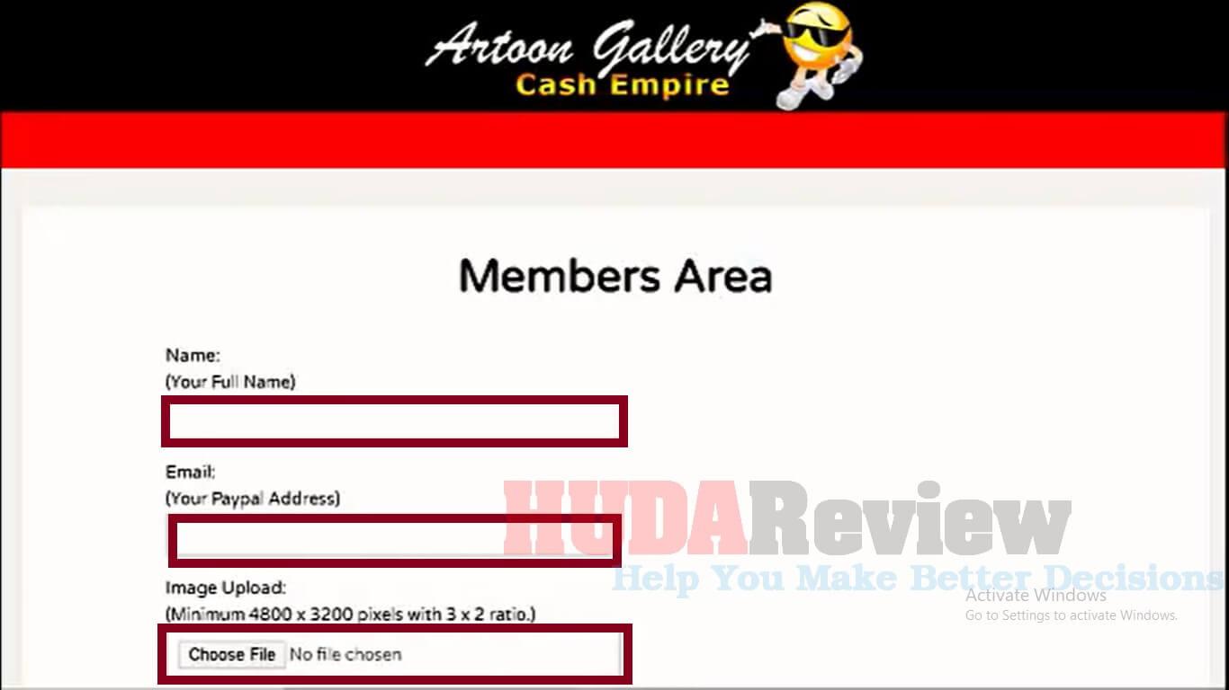 Artoon-Gallery-Cash-Empire-Step-1