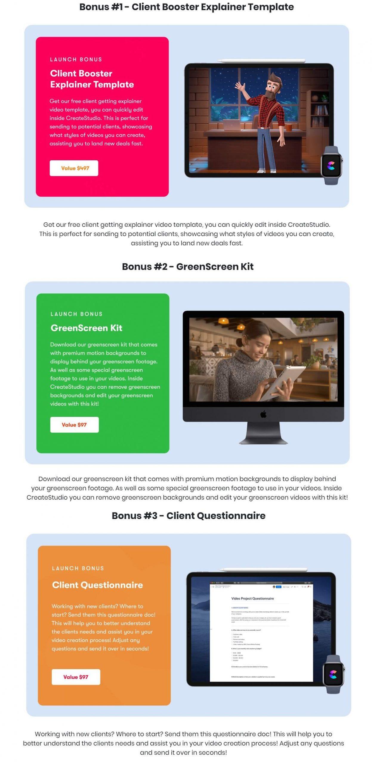 CreateStudio-Bonuses
