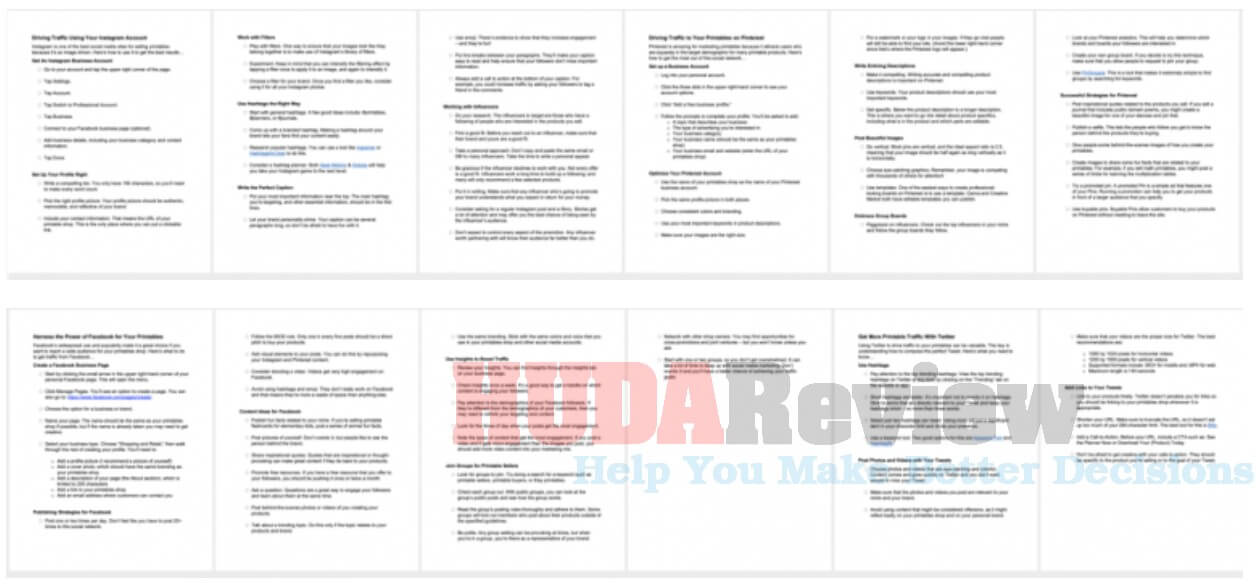 Easy-Printable-Traffic-Review-2