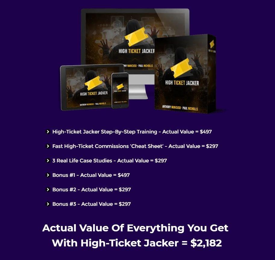 High-Ticket-Jacker-Price