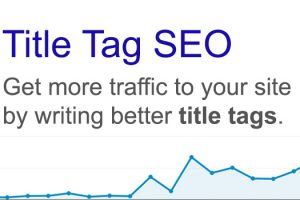Onpage SEO And What You Need To Know About SEO Title Tags