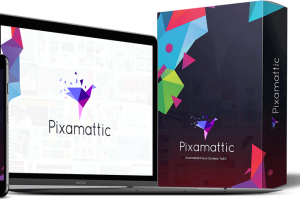 Pixamattic Review – Unique Visual Content For You Instantly To Get Buyers!