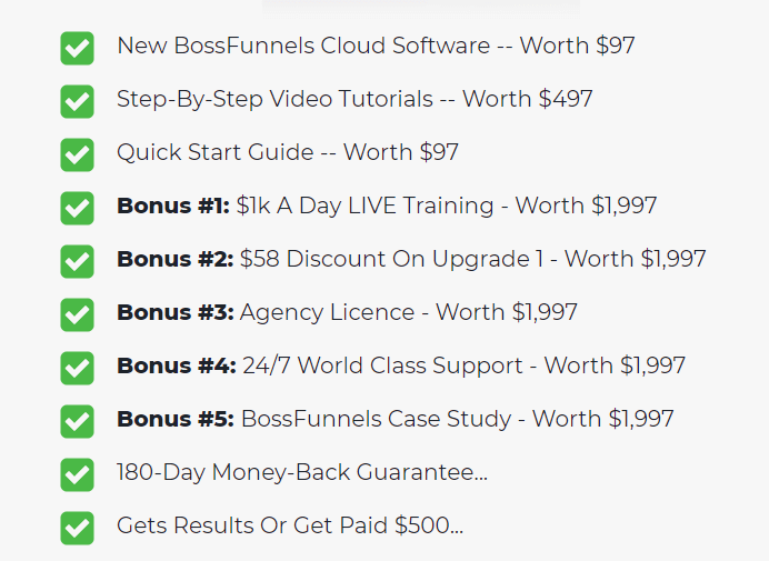 BossFunnels-Price