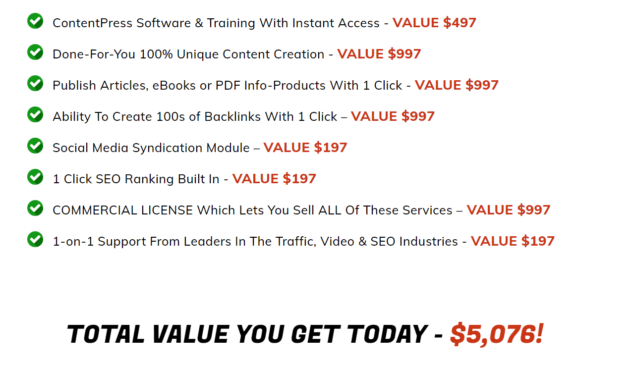 ContentPress-Price