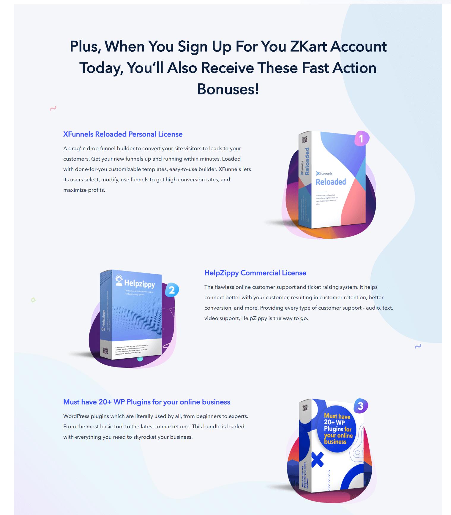 ZKart-Bonuses