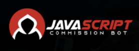 Javascript-Commission-Bot-Logo