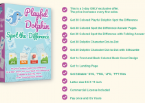 [PLR] Playful Dolphin Spot The Difference Review & Bonus