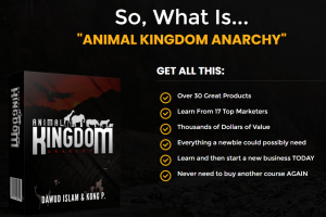 Animal Kingdom Anarchy Review | 35-In-01 Training & Software Package