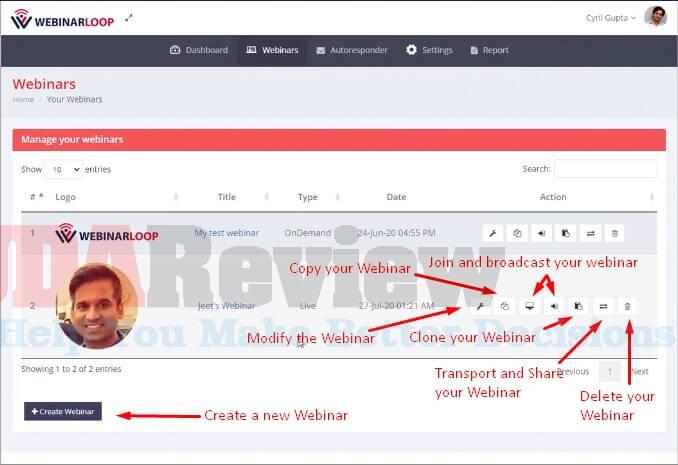 Webinarloop-Step-2