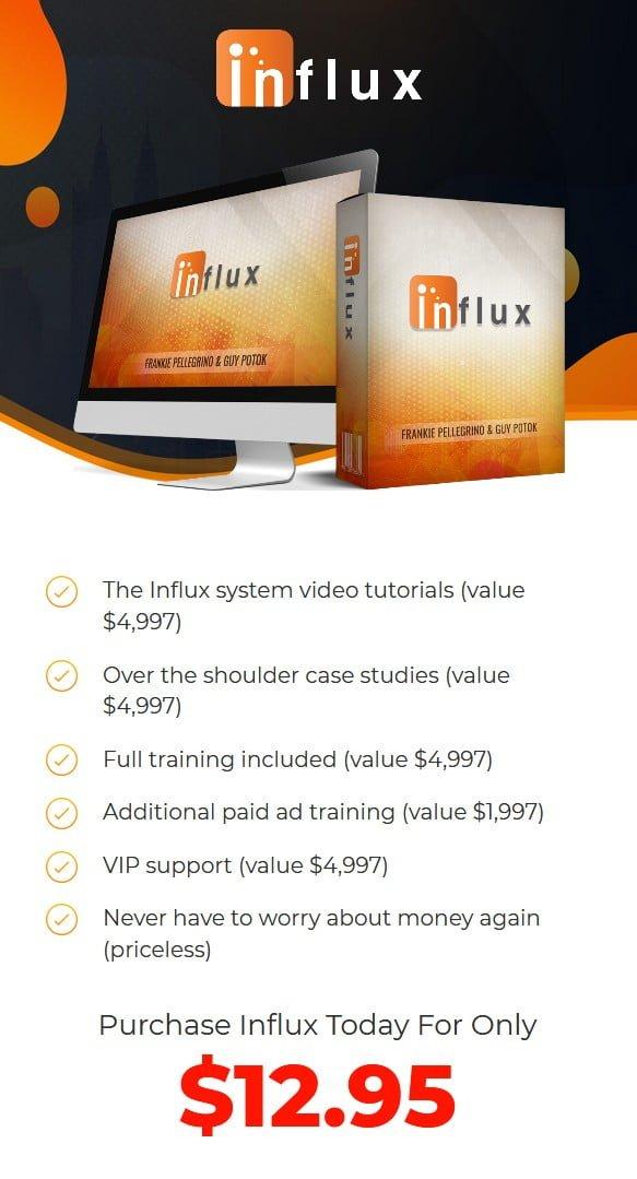 Influx-price