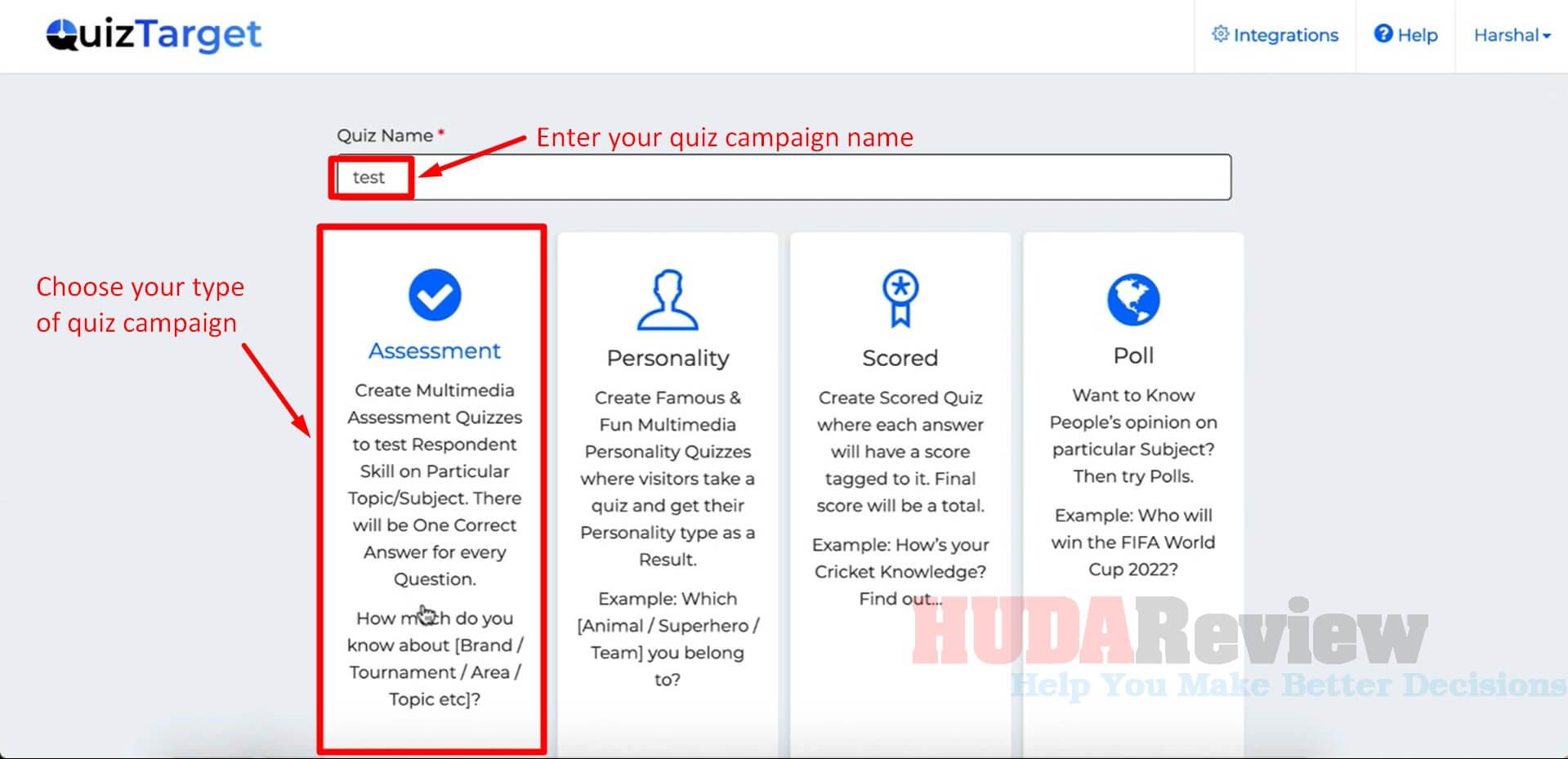 QuizTarget-Review-Step-1