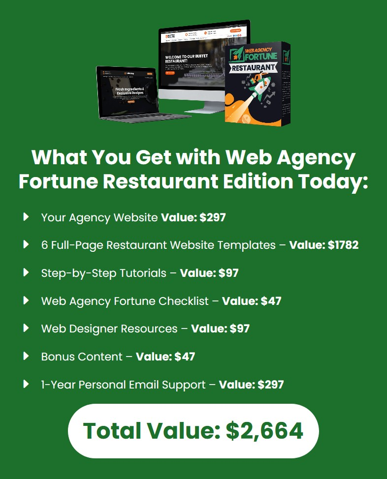Web-Agency-Fortune-Restaurant-Edition-price