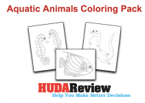 Aquatic-Animals-Coloring-Pack-Review