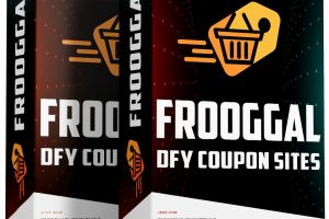 FROOGGAL Review – [DFY] Instantly Create a Profitable Affiliate Coupon Site