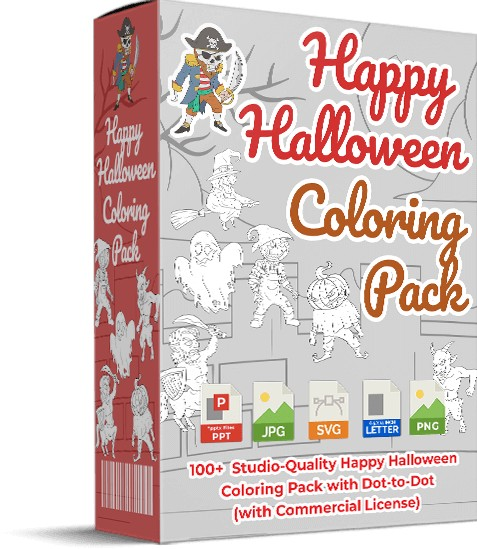 Happy-Halloween-Coloring-Pack-review