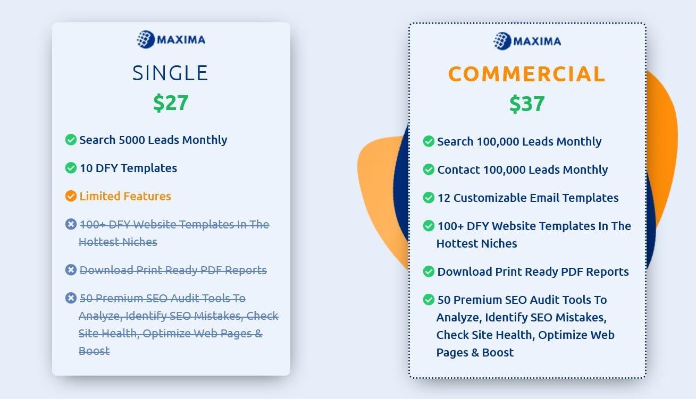 Maxima-price