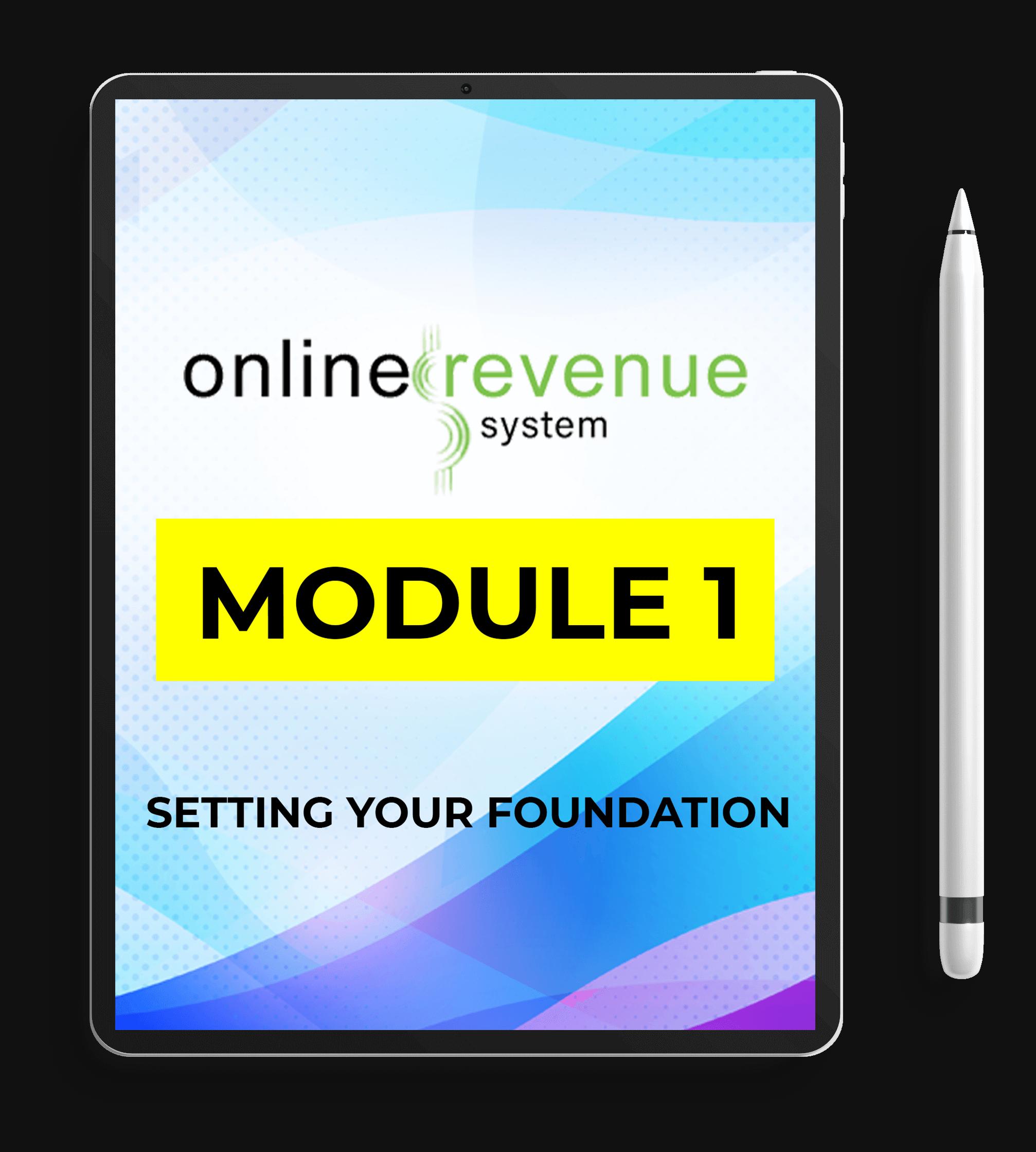 Online-Revenue-System-Review-Module-1