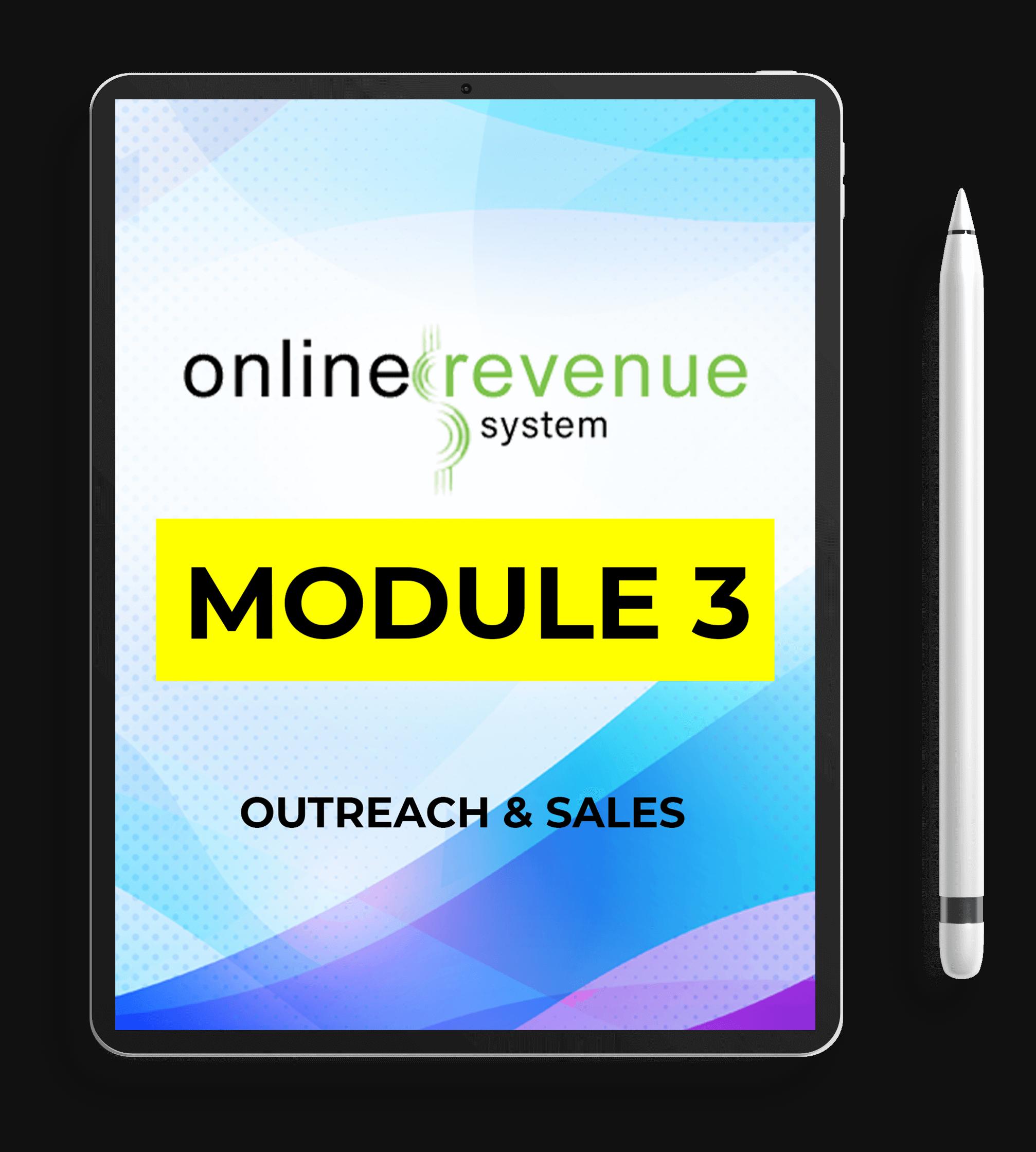 Online-Revenue-System-Review-Module-3