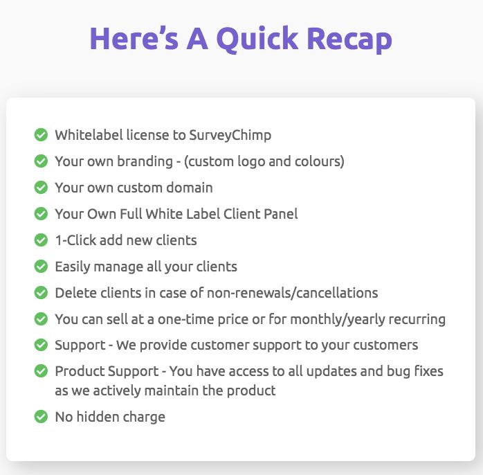 SurveyChimp-Recap