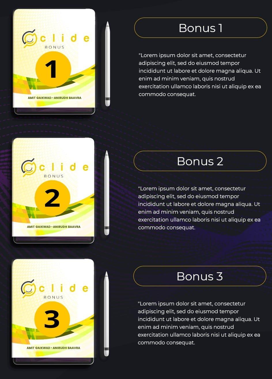 Clide-bonus