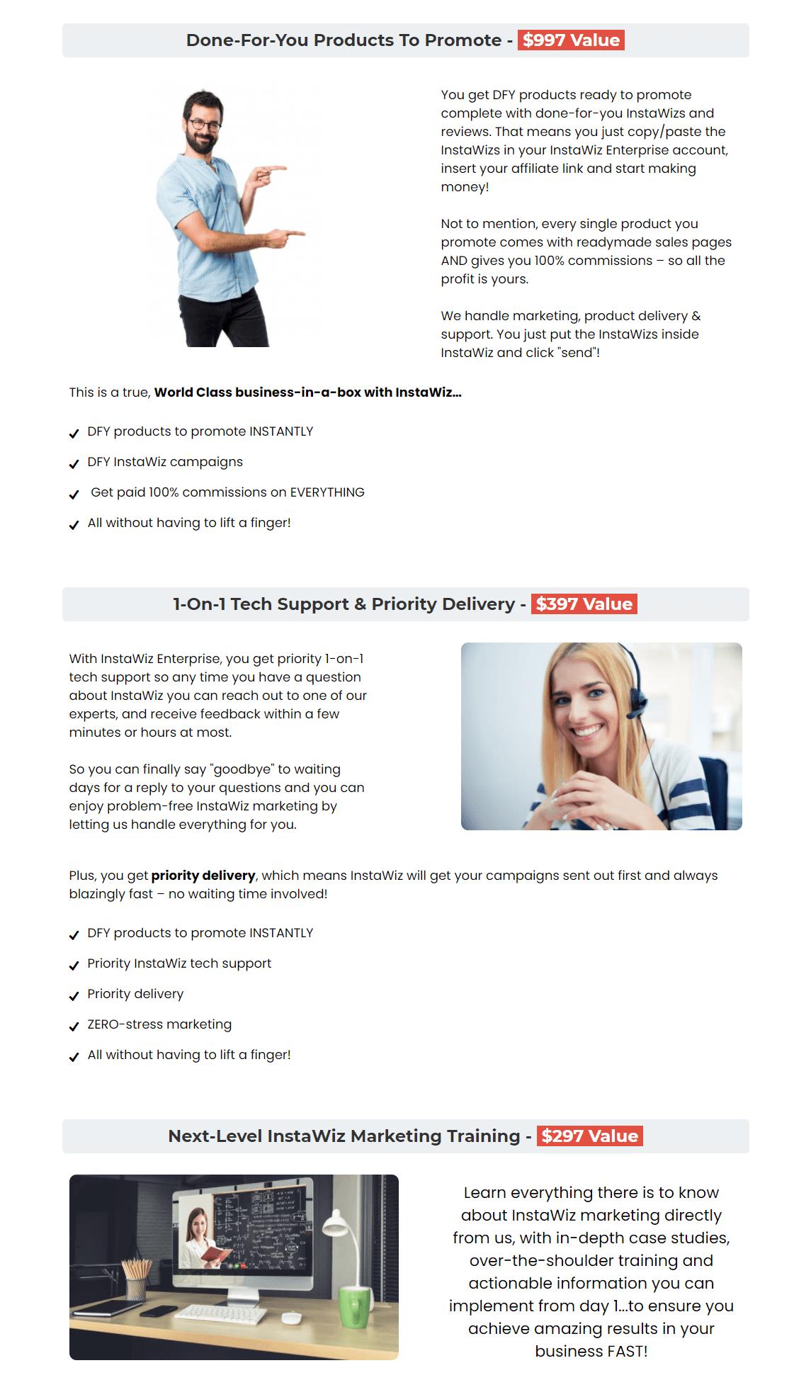 InstaWiz-OTO2-Features