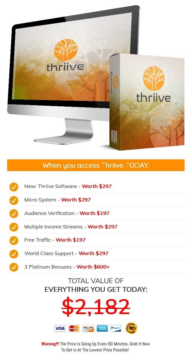 Thriive-price