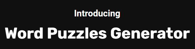 Word-Puzzles-Generator-Logo