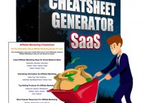 Cheatsheet Generator SaaS Review – Grow your list and make money with the cheatsheets you can create in 30 seconds