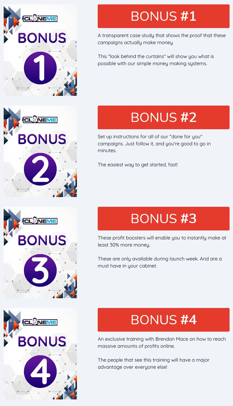 CloneMe-bonus
