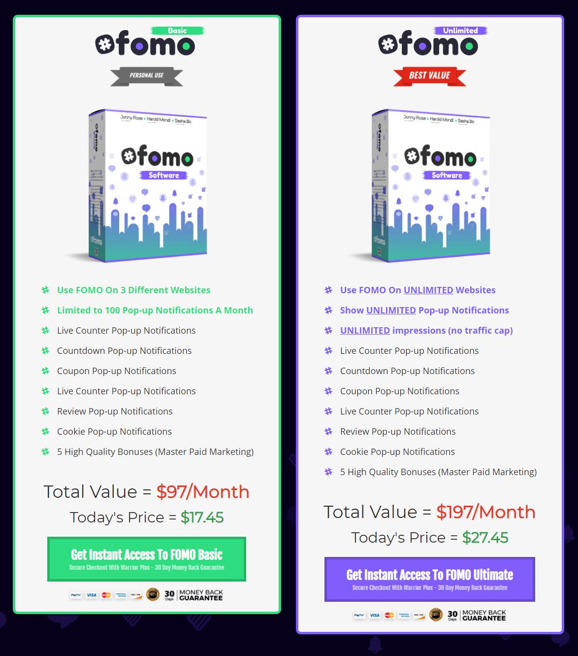 FOMO-price