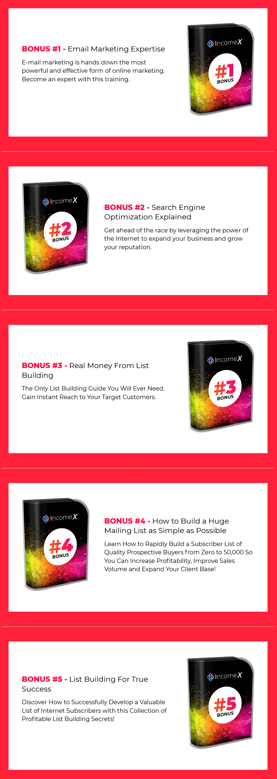 IncomeX-bonus