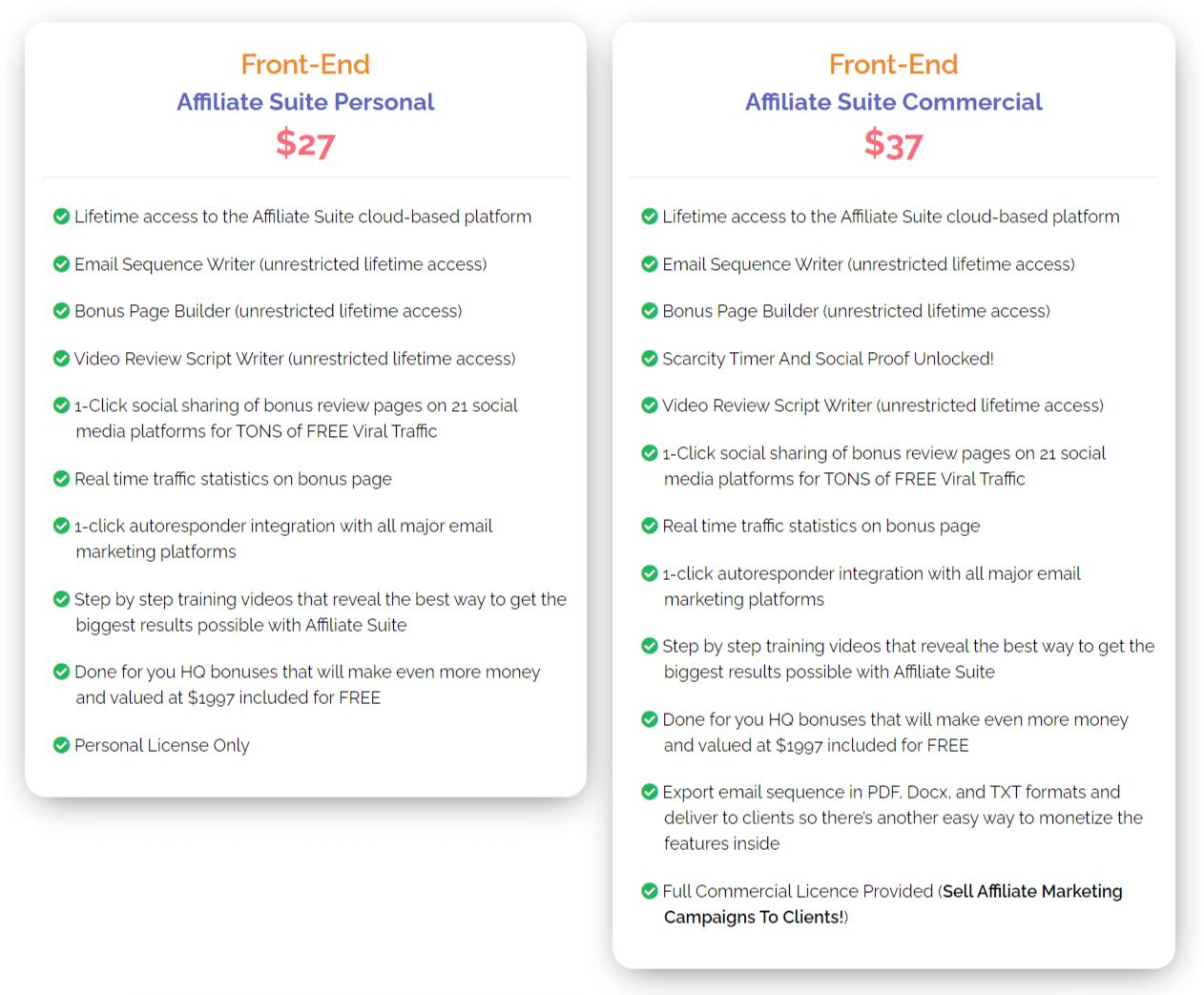 Affiliate-Suite-price