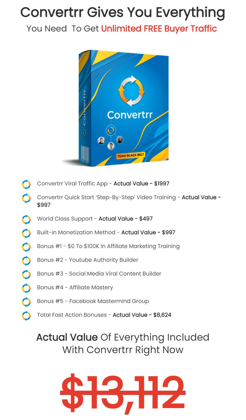 Convertrr-price