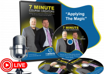 7 Minute Course Creators Review – Learn How To Create Simple Mini Courses In Minutes