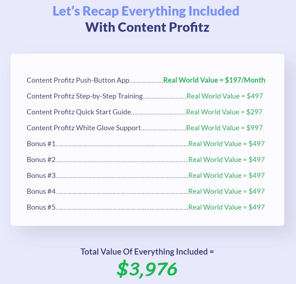 Content-Profitz-price